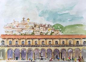 Carthusian Abbey at Padula