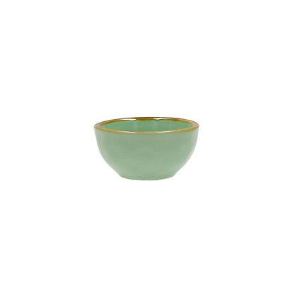 Italian Tiffany Green Bowl - Mini