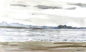 Arthur's Seat from Longniddry Bents