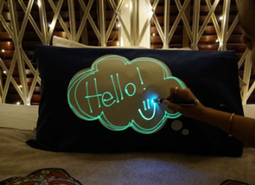 Glow In The Dark Interactive Pillowcase - Dreamcloud