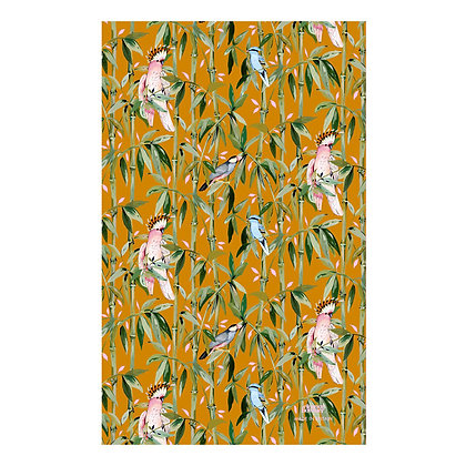 Bamboo Birds Tea Towel