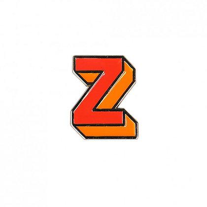 Enamel Pin - Letter Z