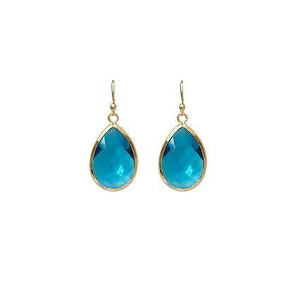 Teardrop Earrings - Turquoise