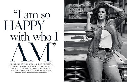 ASHLEY GRAHAM - SO HAPPY WITH WHO I AM
