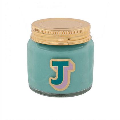 Mini Jar Candle - Letter J