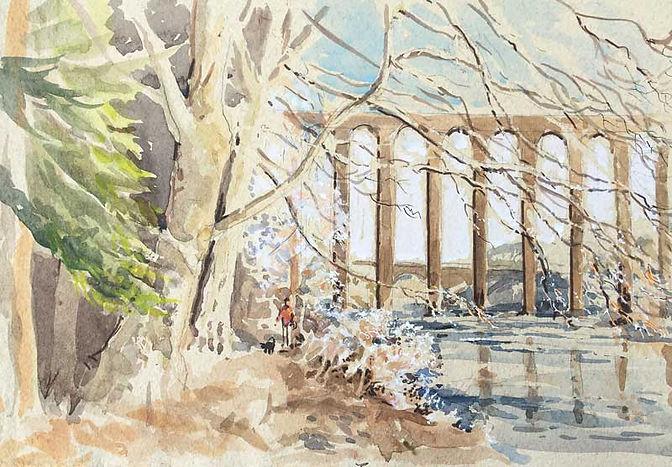Leaderfoot Viaduct, Roxburghshire