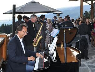 Duo de jazz pour événements privés