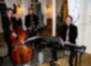 Trio de jazz pour soirées privées