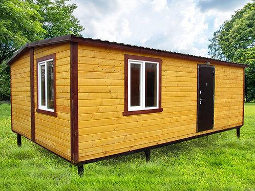 Модульный домик 7х4,6м с банной комнатой
