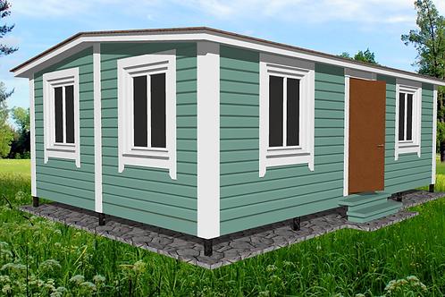 Модульный дом 7х4,6м