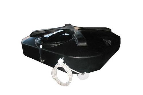 Душевой бак 200 литров с ТЭНом, терморегулятором и лейкой