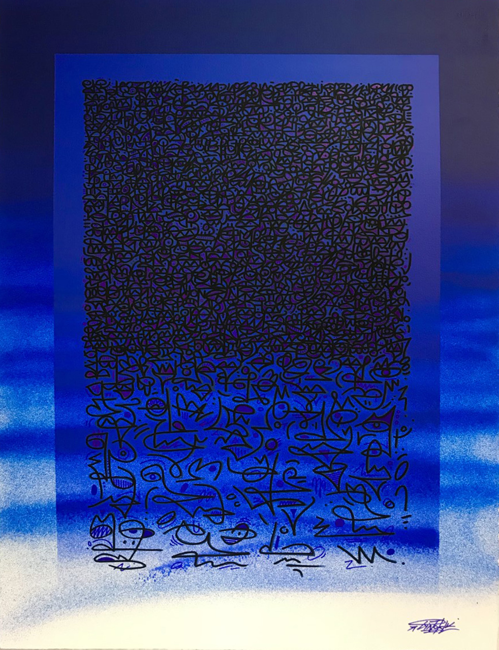 deep blue VENDU