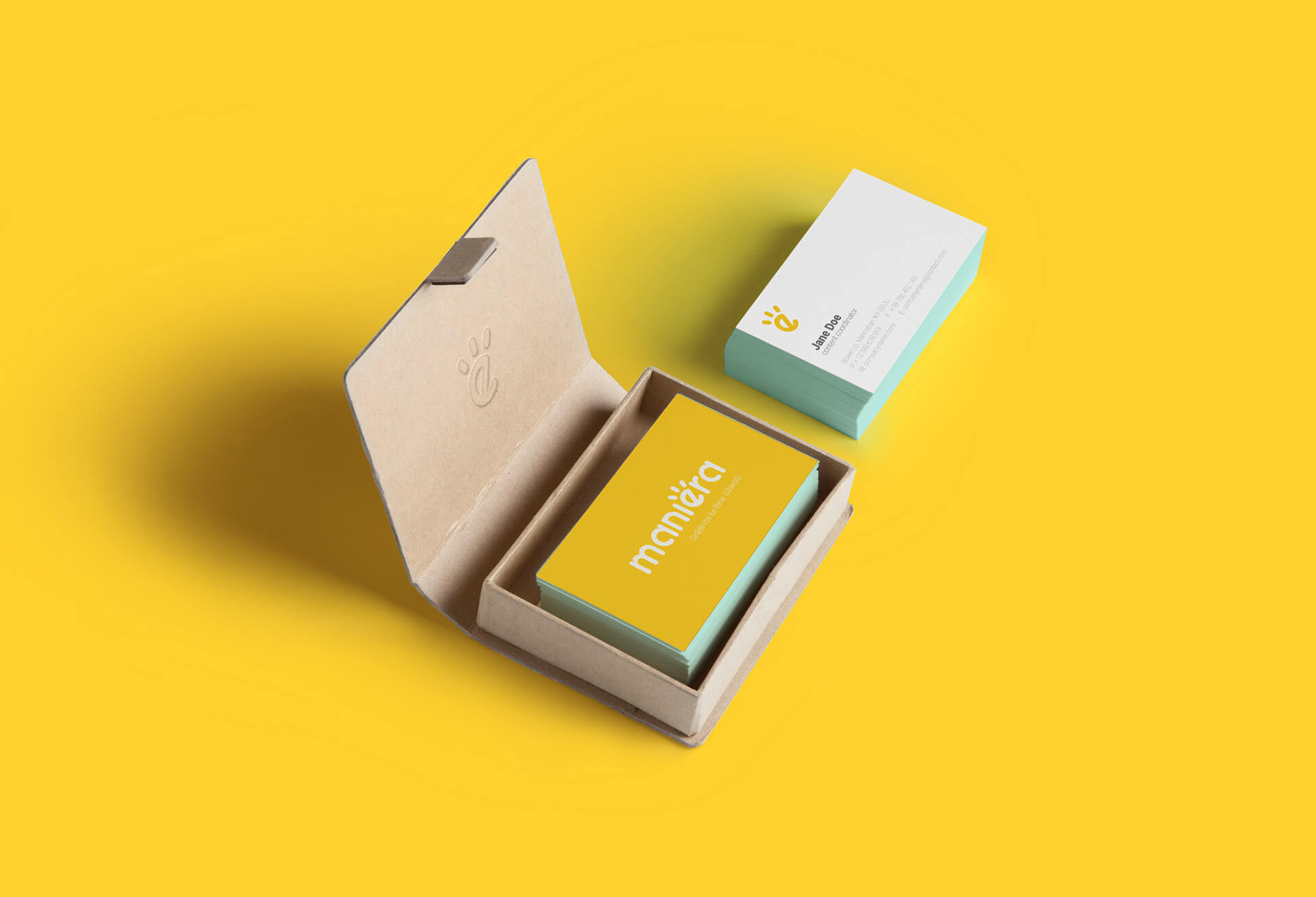 maniera-business-cards