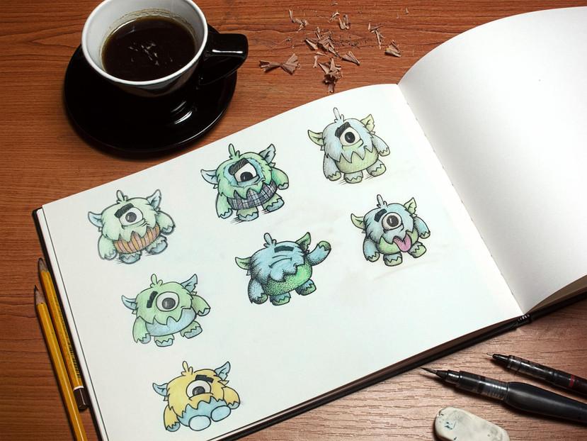 monstrulex-sketches