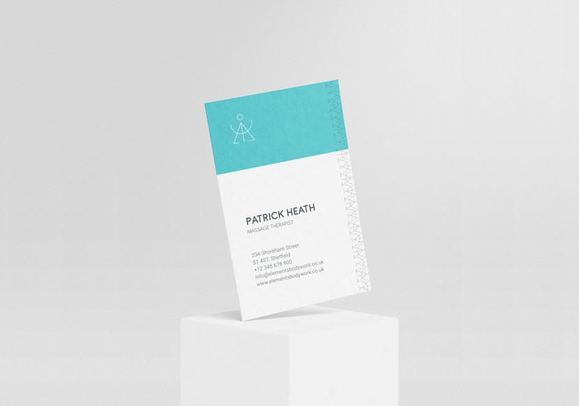 elements-bodywork-business-card