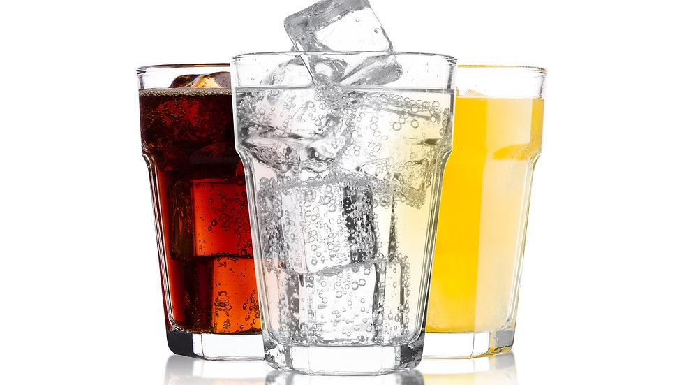 Mineral Wasser mit Kohlensäure