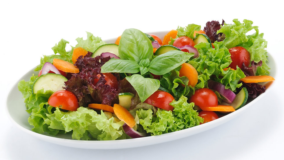 Salat Rucola mit Parmesan