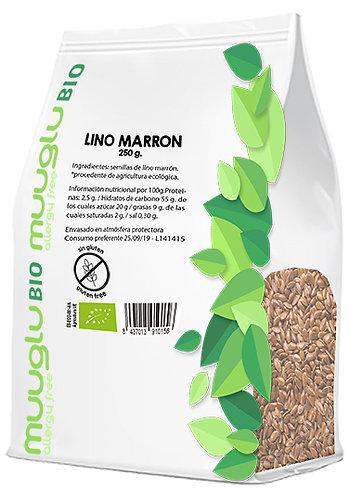 Semillas de lino marrón BIO 250 g.