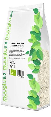 Harina integral de arroz BIO 500 g.