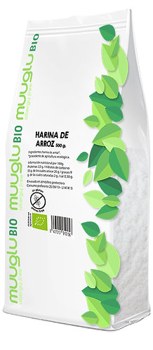 Harina de arroz BIO 500 g.