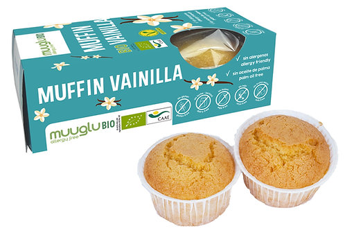 Muffin vainilla BIO