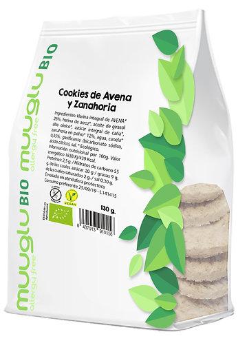 Cookies de avena y zanahoria BIO