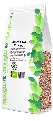 Quinoa real roja BIO 500 g.