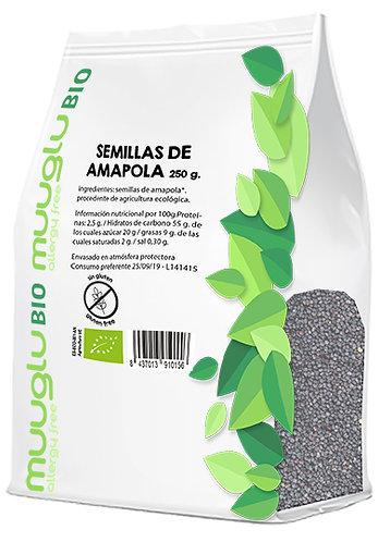Semillas de amapola BIO 250 g.