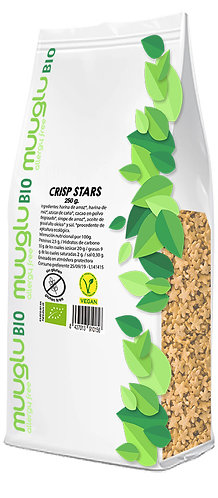 Crisp stars BIO 250 g.