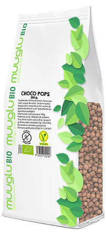 Choco pops BIO 250 g.