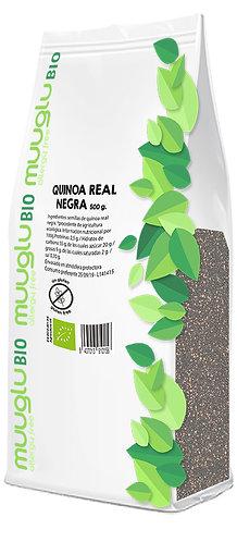 Quinoa real negra BIO 500 g.