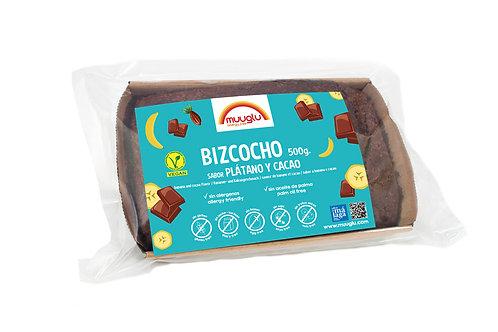 Bizcocho plátano y cacao