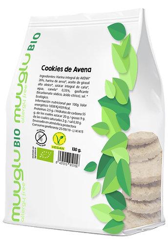 Cookies de avena integral BIO