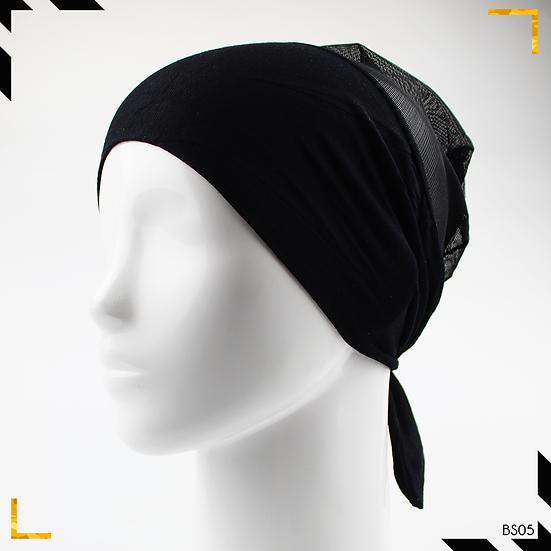Bonnet underscarf simple - Noir