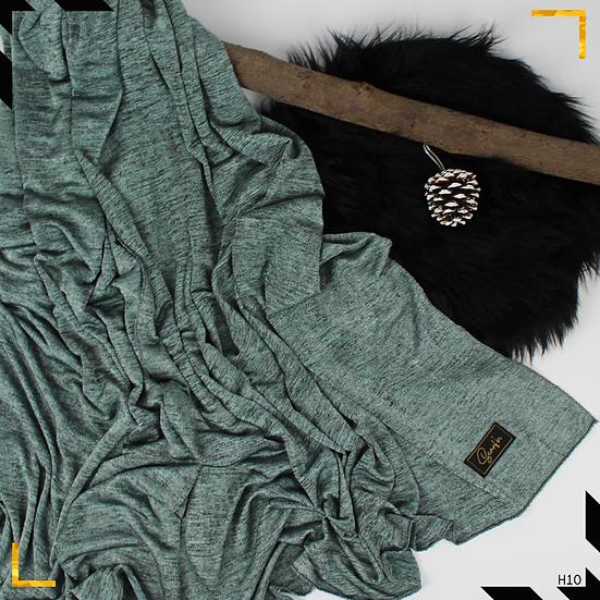 Châle en jersey chiné - Mint