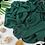 Thumbnail: Châle en Crepe Premium - Vert epinards
