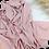 Thumbnail: Châle en crêpe premium - Rose nude
