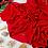 Thumbnail: Châle en Crepe Premium - Rouge