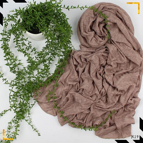Châle en jersey koweïtien - The nude