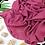 Thumbnail: Châle en Crepe Premium - Magenta