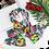 """Thumbnail: Twilly """"Flora"""" - Fond vert royal"""