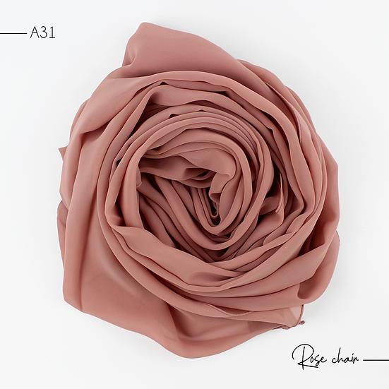 Chiffon Premium - Rose chair