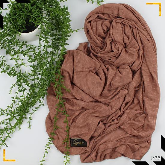 Châle en jersey koweïtien - Earthy nude