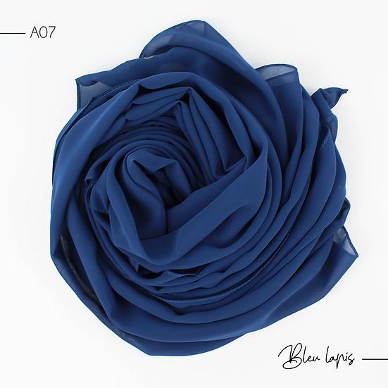 Chiffon Premium - Bleu lapis