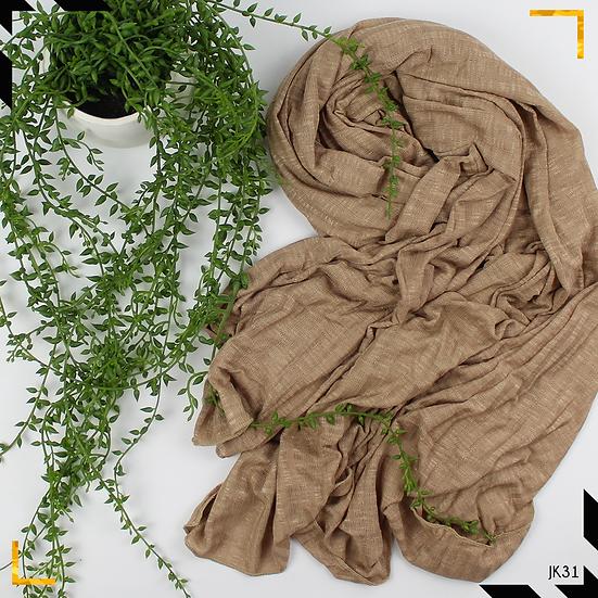 Châle en jersey koweïtien - Beige nude