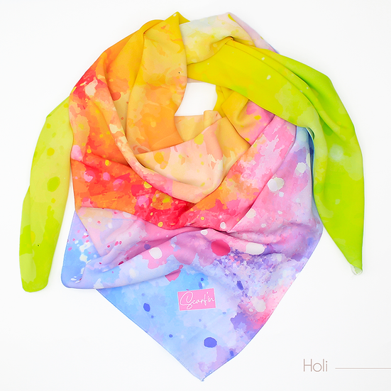 "Foulard ""Holi"" - Version 1"