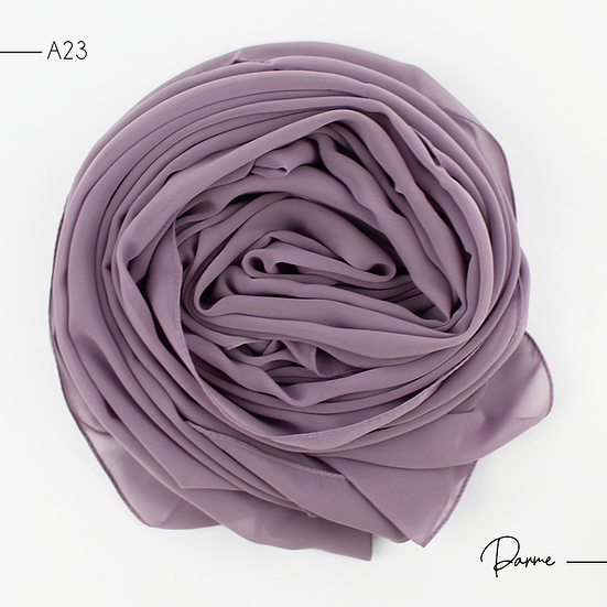 Chiffon Premium - Parme