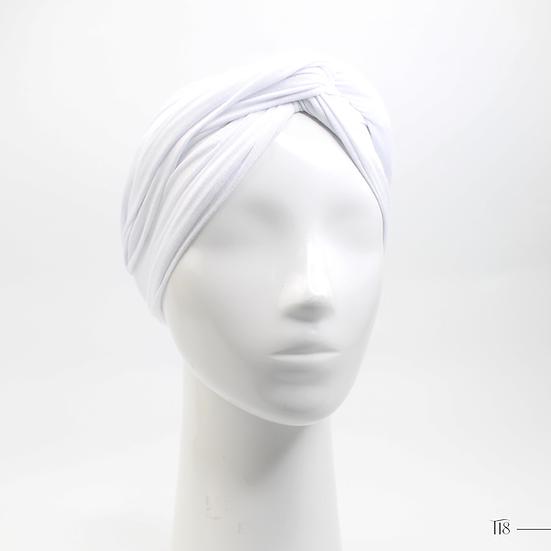Turban - Blanc