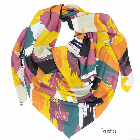 """Foulard """"Brusha"""" - Version 2"""