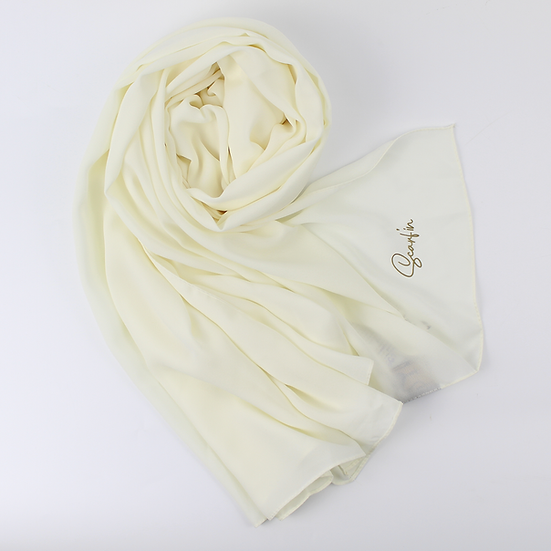 Crêpe Premium - Blanc cassé